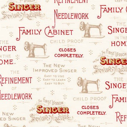 Sewing with Singer Parchment