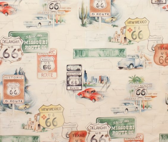 Get Your Kicks on Route 66 - Tea