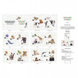 Alphabet Animals Soft Book