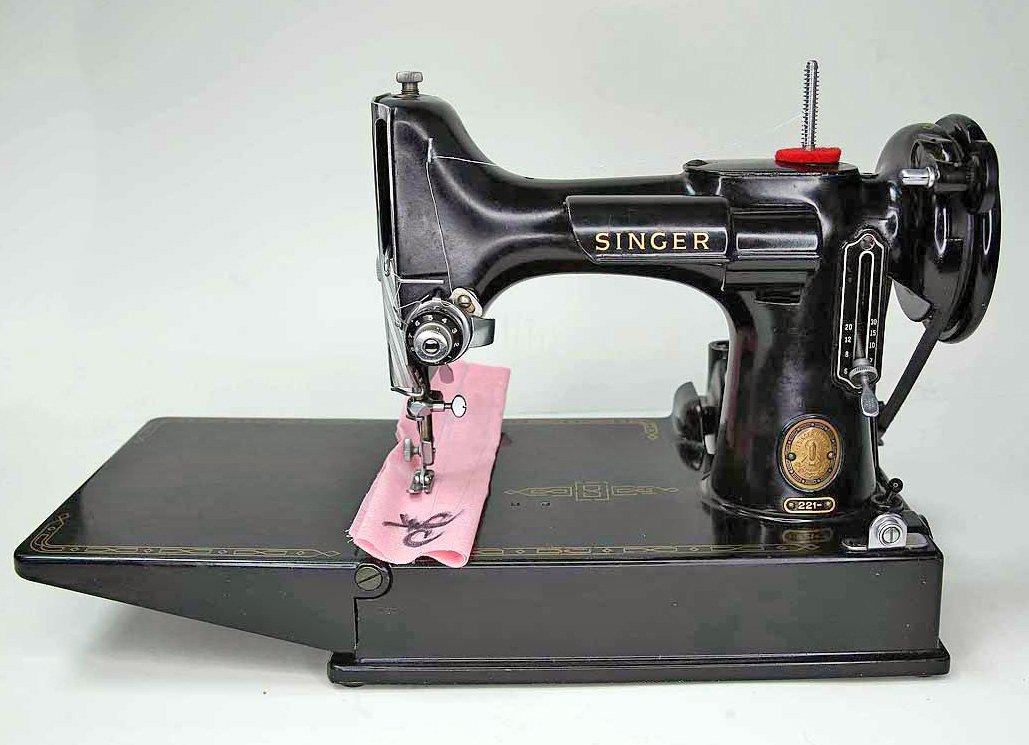 Singer Featherweight Machine, Renovated -- AM398713