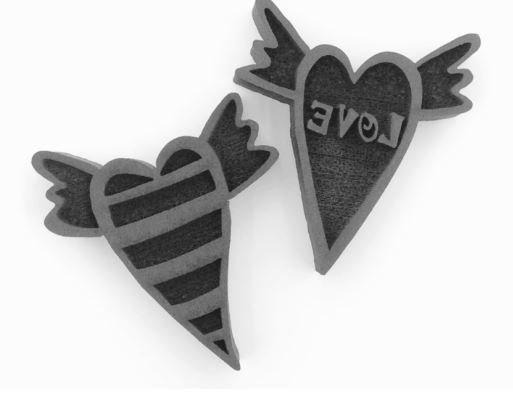 Andrea Hearts Set Stamp