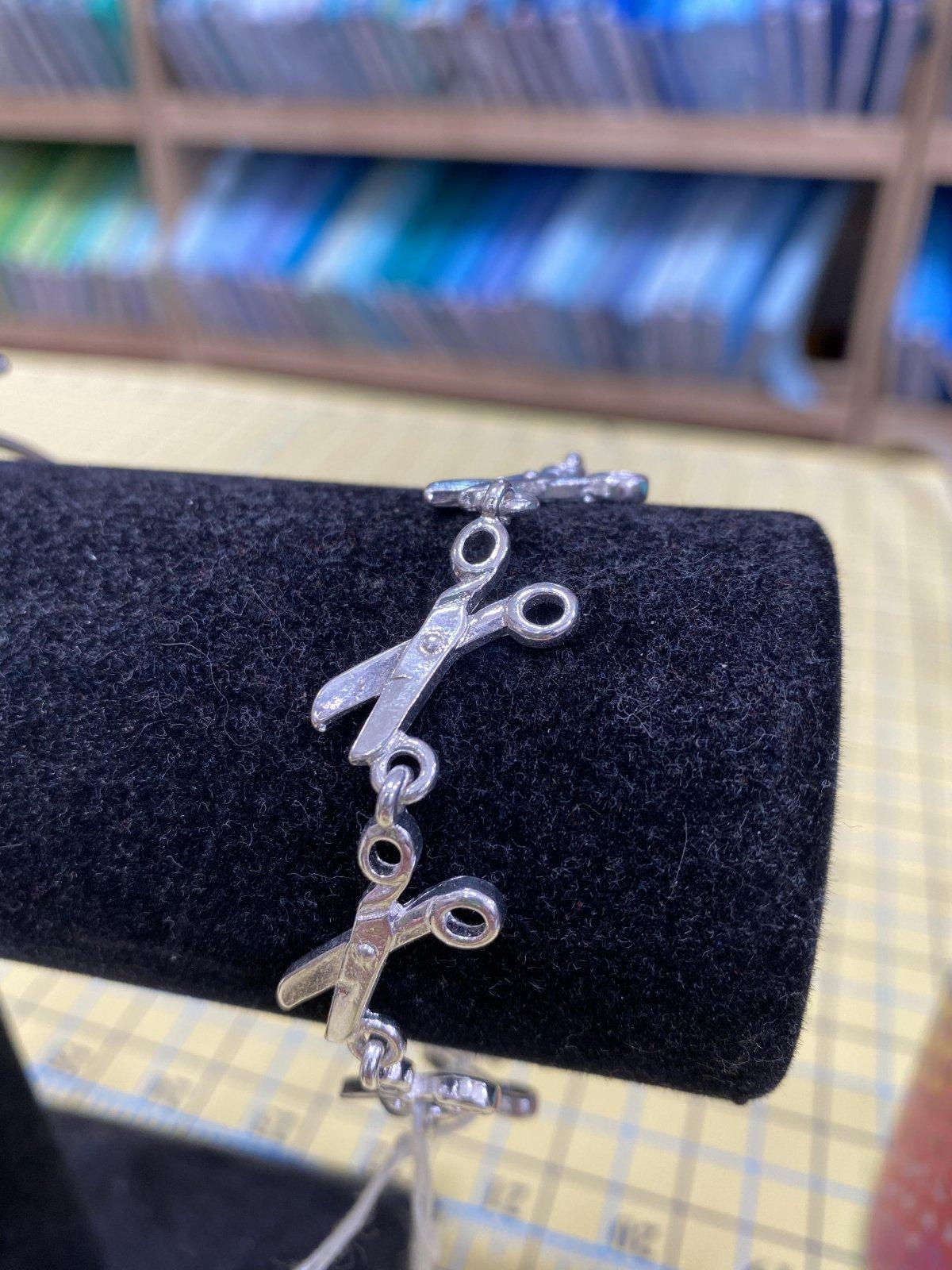 Scissor Link Bracelet