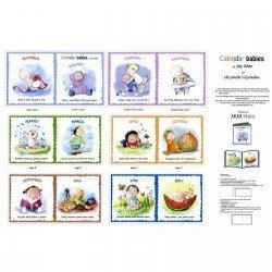 Calendar Babies Soft Book Elizabeth's Studio