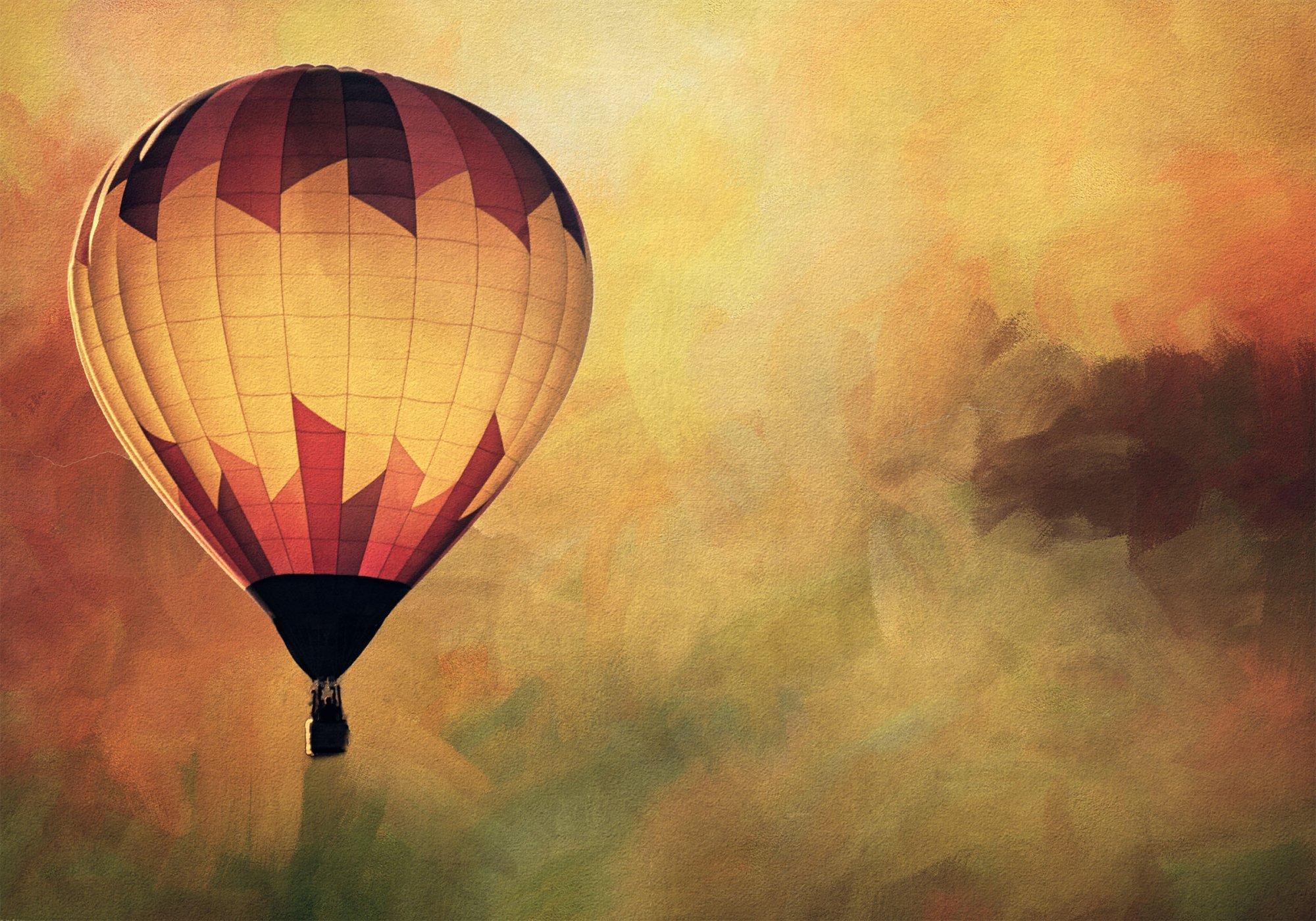 Hot Air Balloon Digital Panel