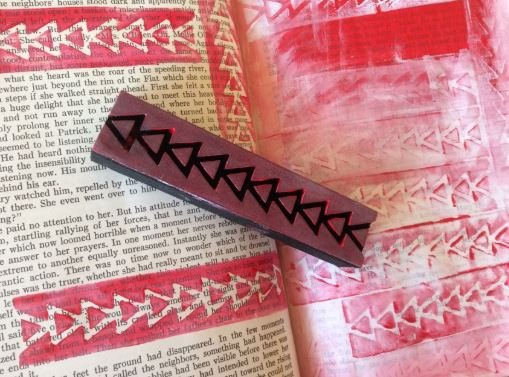 Balzer Triangle Staircase Stamp