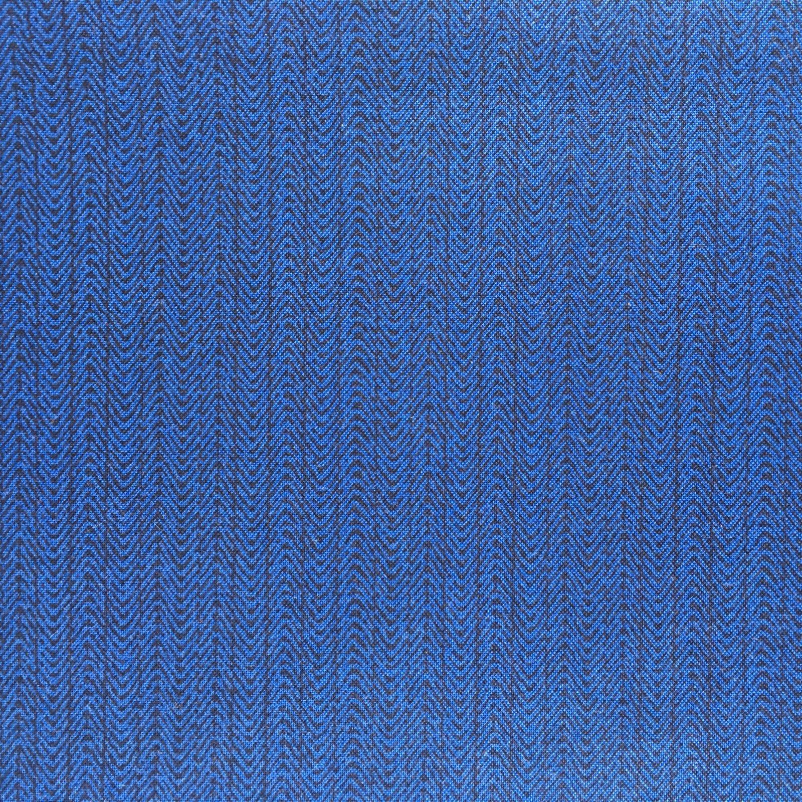 Bear Essentials 3 Dark Blue Herringbone