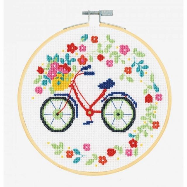 Cross Stitch Kit Bicycles