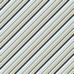 Mod Nouveau Mint Stripe