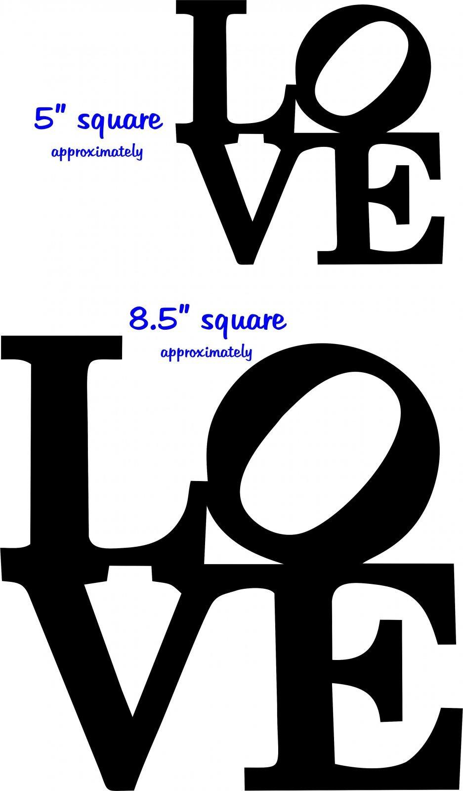 Big Love Laser Cut 9x9