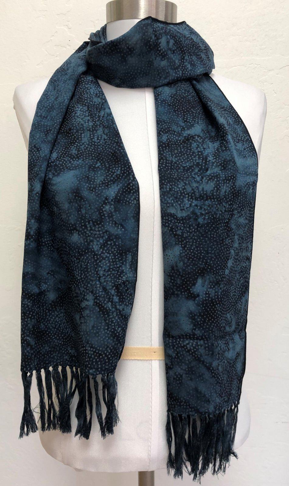 Rayon Batik Scarves