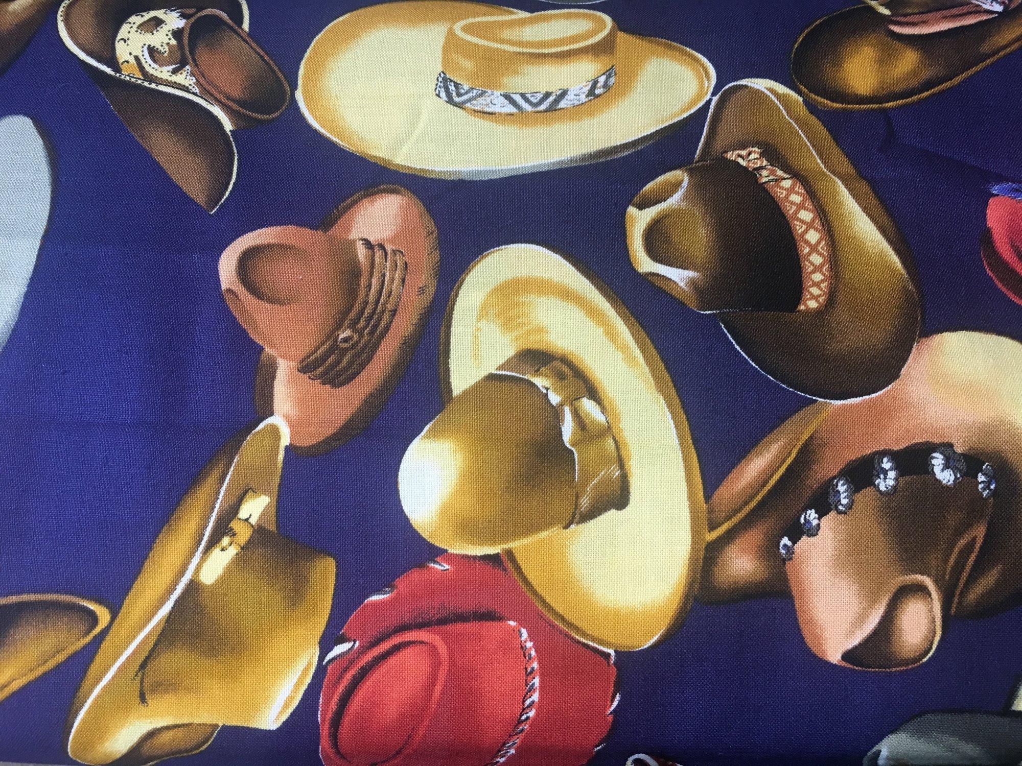 Cowboy Hats Blue
