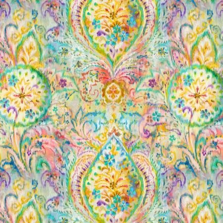 Bohemian Dreams Golden Paisley