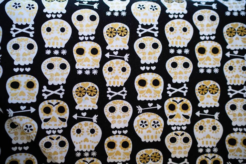 Bonehead Skulls Black