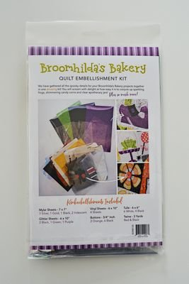 KimberBell Broomhilda's Bakery Embellishment Kit