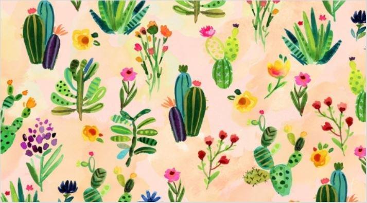 Viva Mexico Cacti Multi Fabric