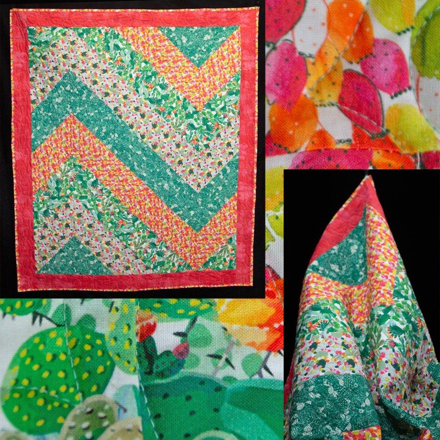 Cactus Flower Quilt Kit