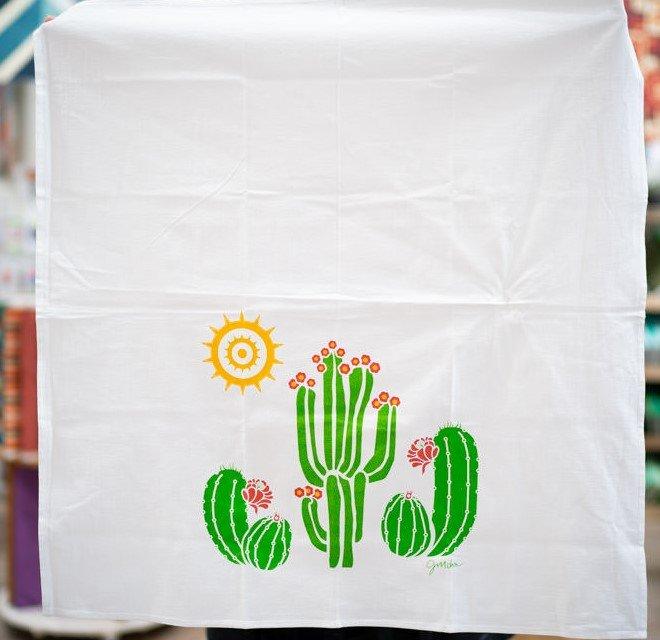 Cacti Flour Sack Towel