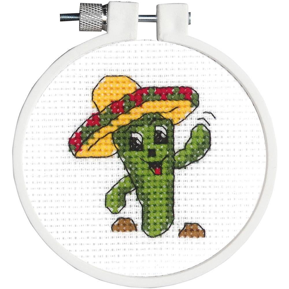 Carlos the Cactus Cross Stitch Kit