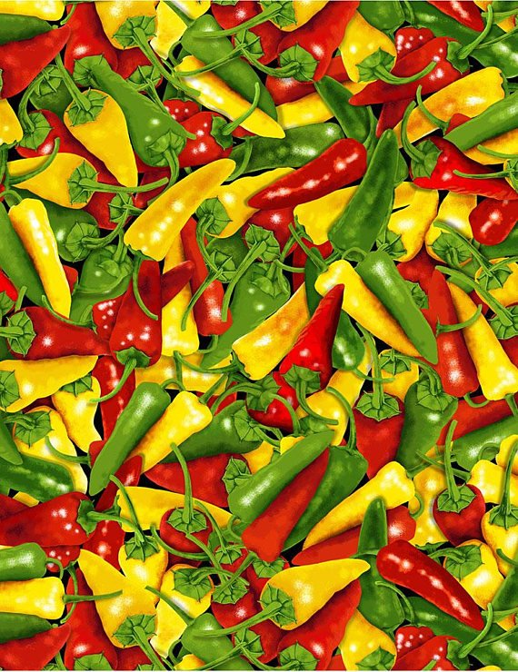 Chili Peppers Multi Color