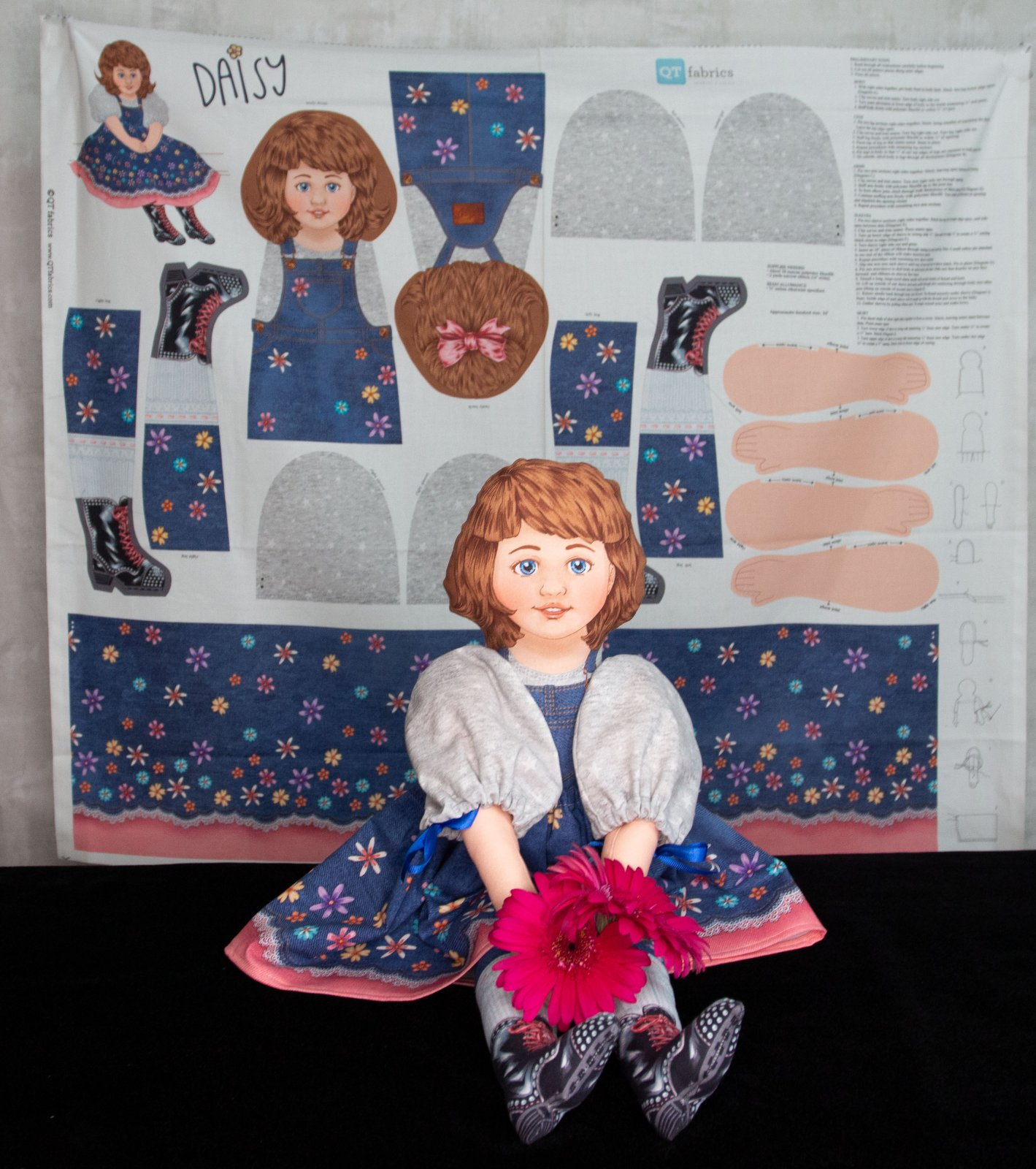 Sew & Go Daisy Doll Craft Panel