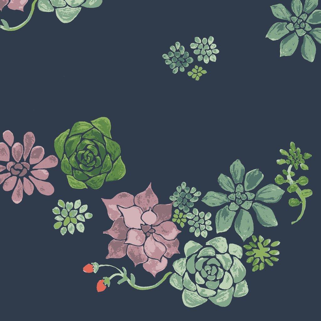 Desert Floral Poplin Monaluna Journey Organic
