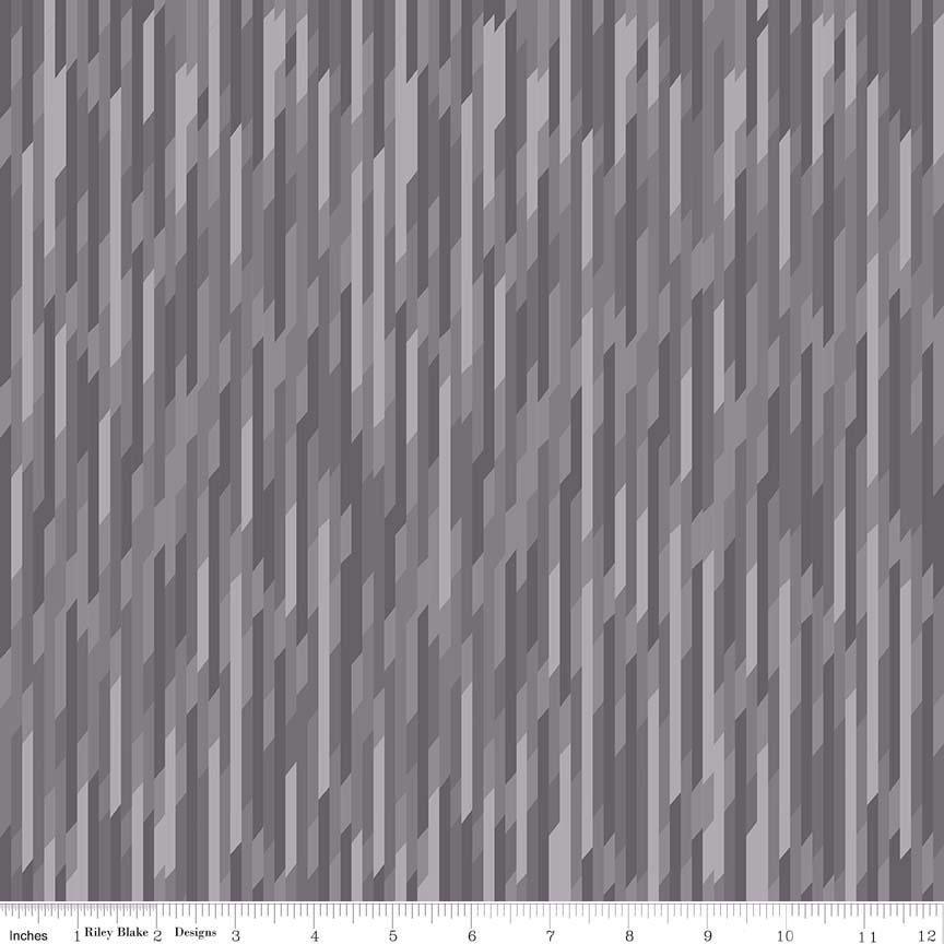 Desert Stripe Gray Knit