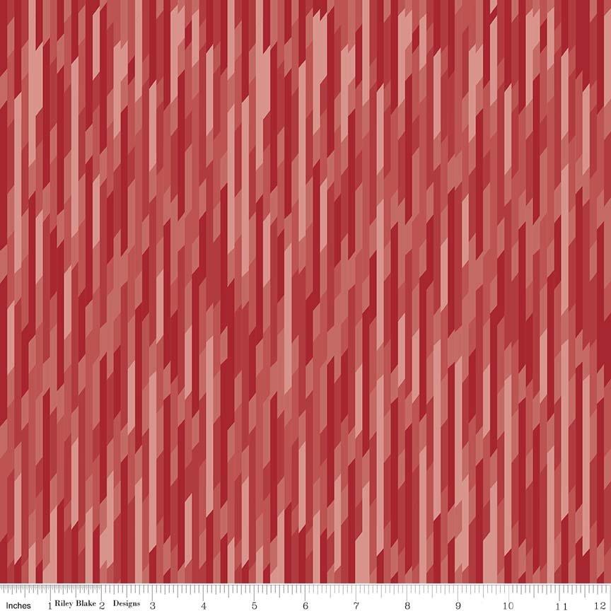 Desert Stripe Red Knit
