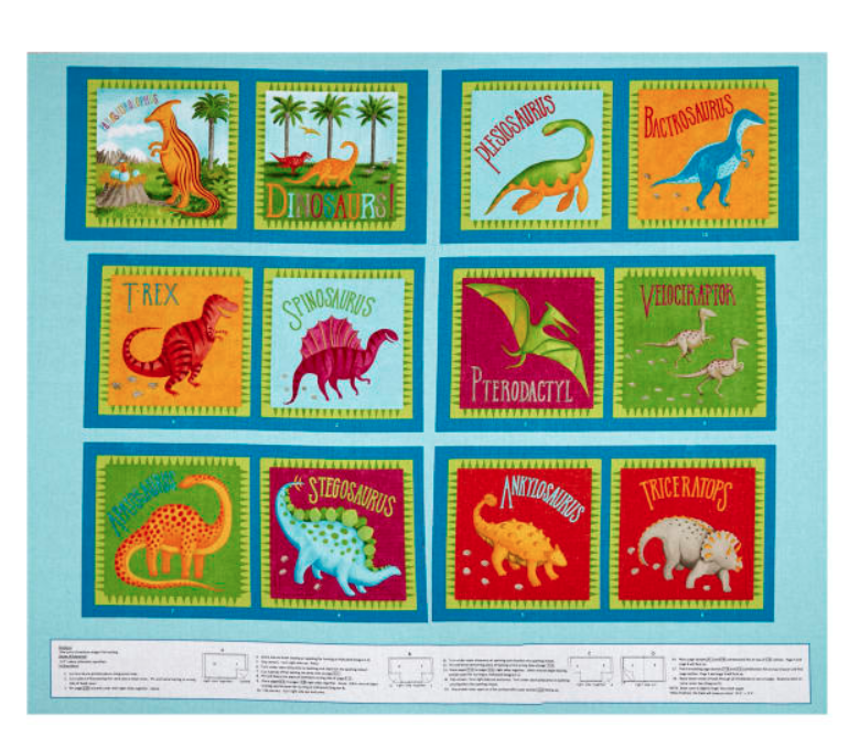 Dino Party Soft Book