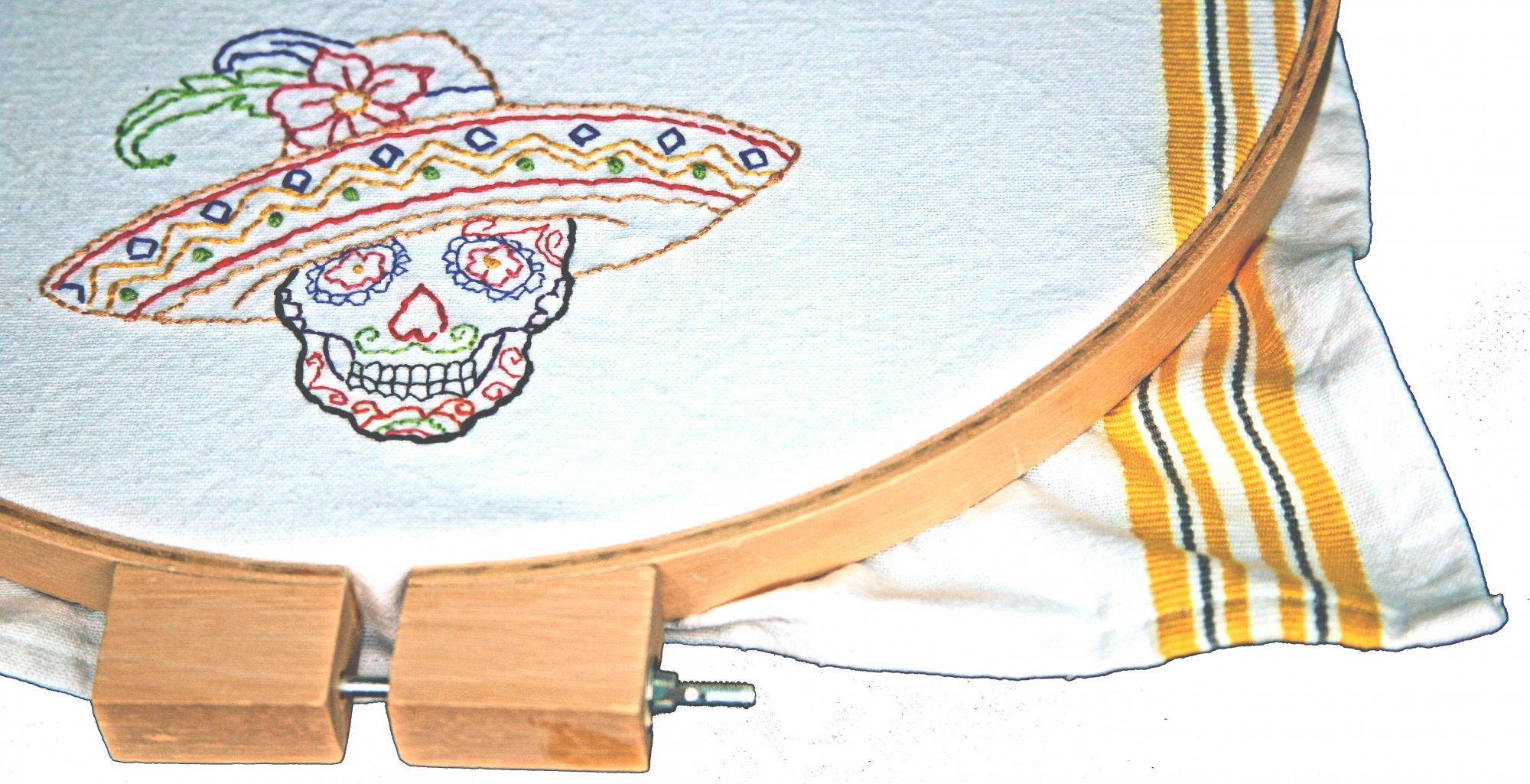 Senor Mustacho Embroidery Kit