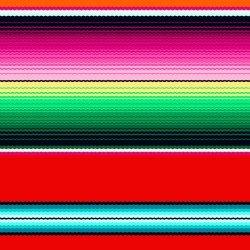 Fiesta Stripe Red