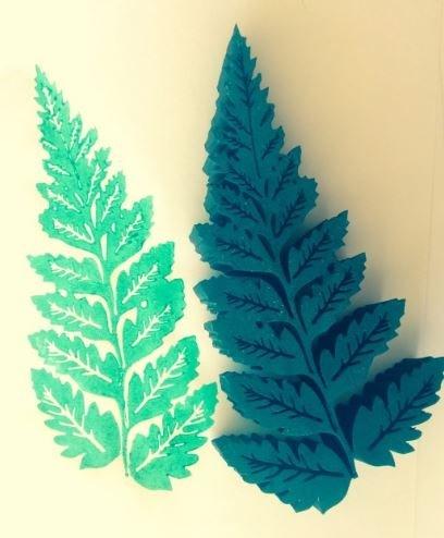 Fern Leaf Stamp