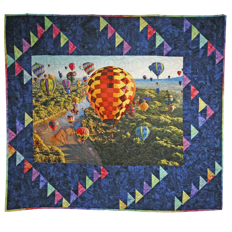 Flying Up and Away Panel Pattern