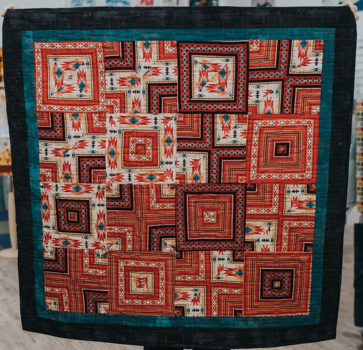 Four Corners Revisited Quilt Pattern