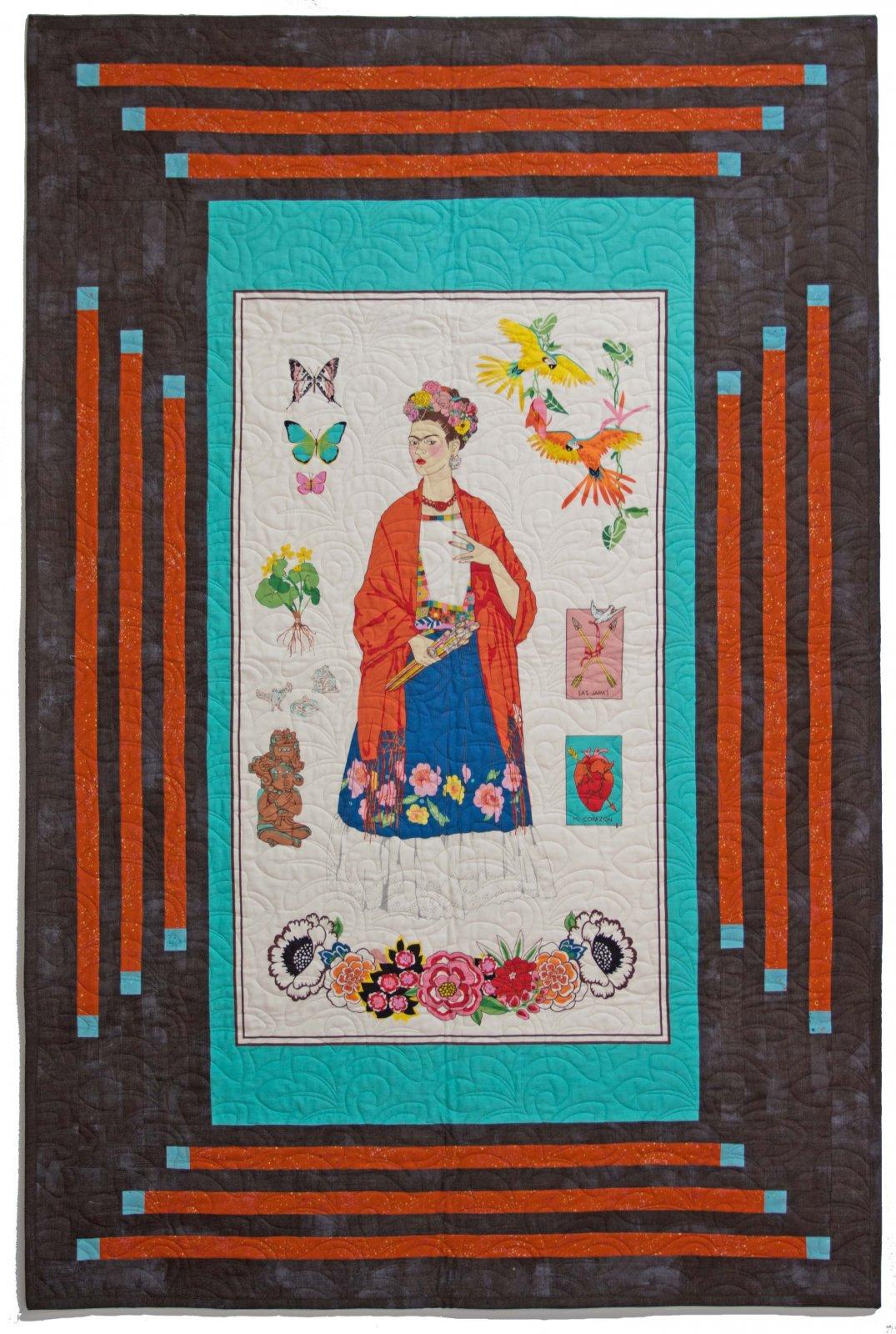 L'Artista con Alma Frida Quilt Kit