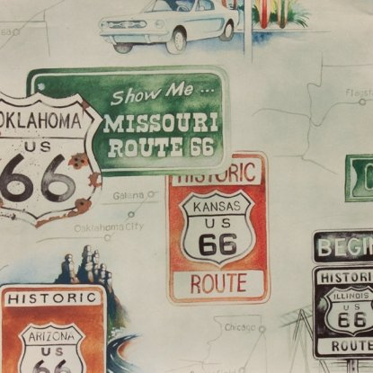 Get Your Kicks on Route 66 - Sage