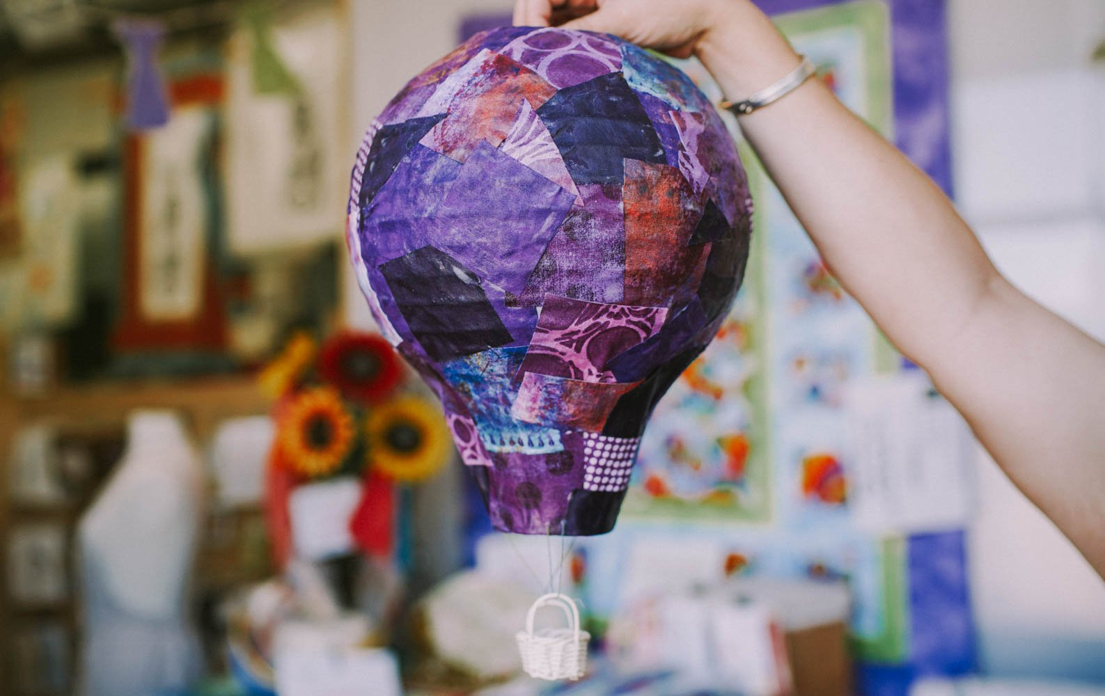 Hanging Hot Air Balloon Kit