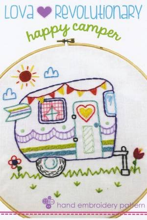 Happy Camper Embroidery