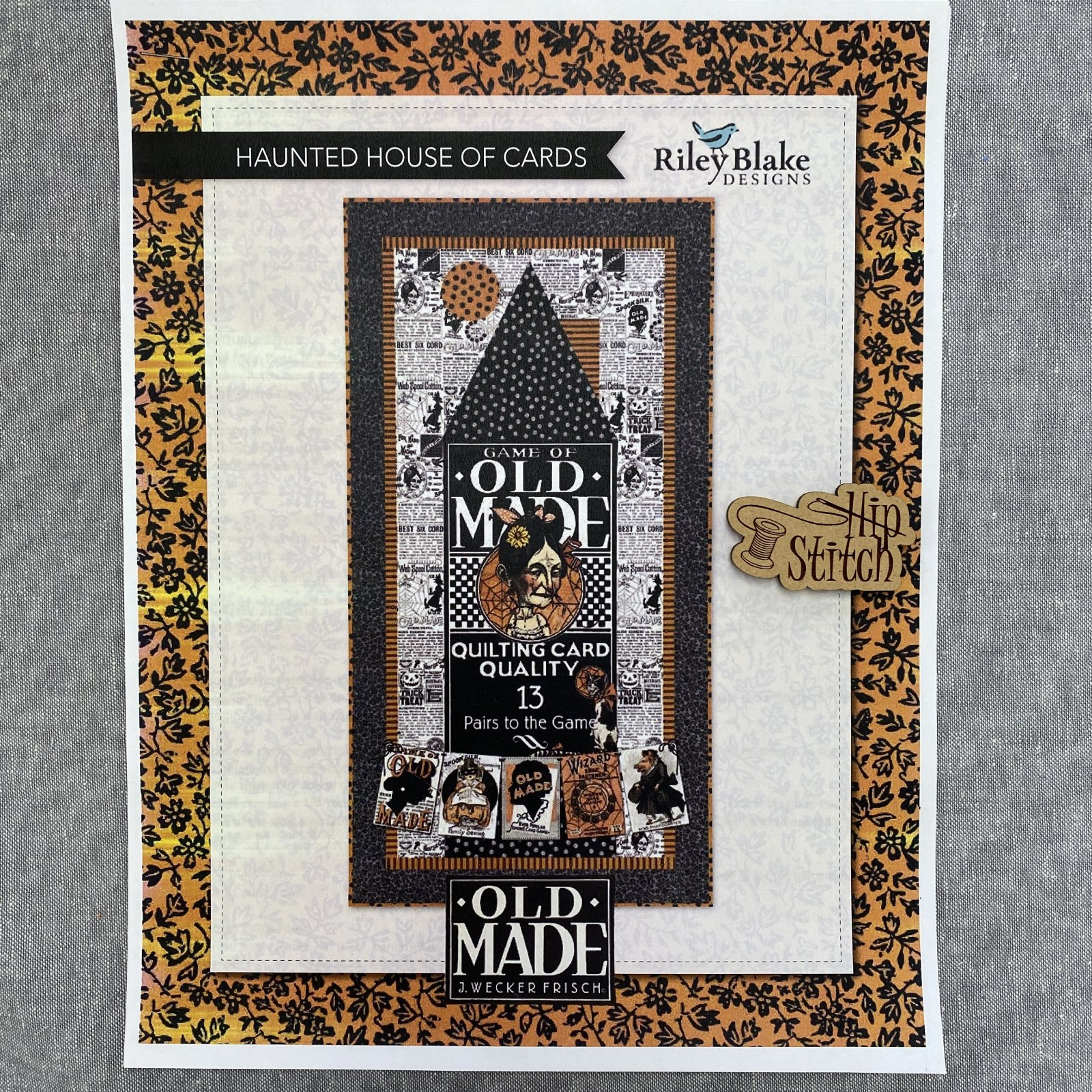 Haunted House of Cards Quilt Kit