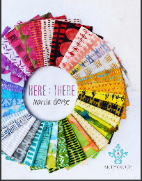Here:There by Marcia Derse - Fat Quarter Bundle of 34 PREORDER