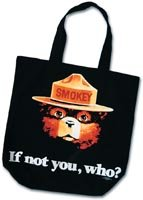 Smokey If Not You, Who? Tote Bag