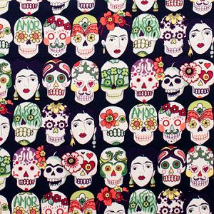 Gotas de Amor Frida - Dark Eggplant - Frida Kahlo