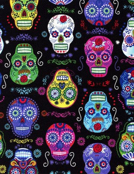 Folklore Skulls Black