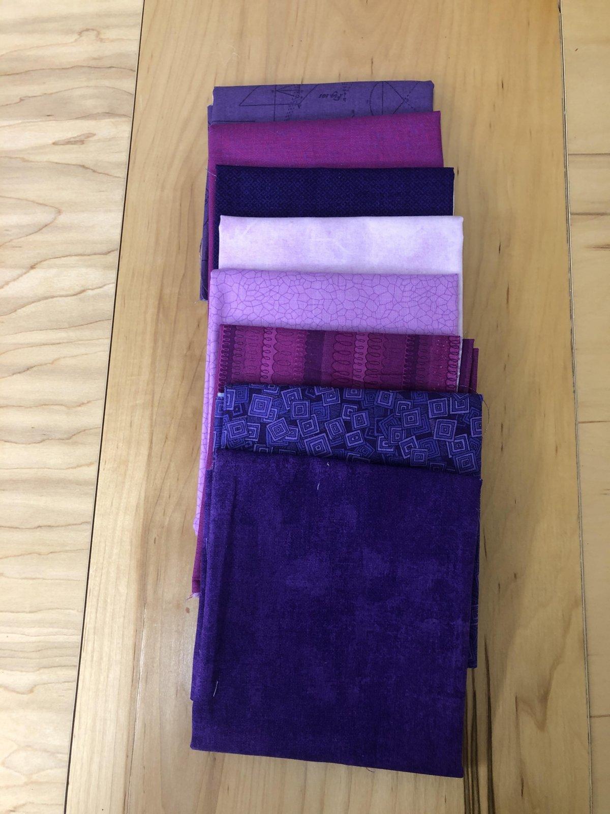 Purple Rain Fat Quarter Bundle