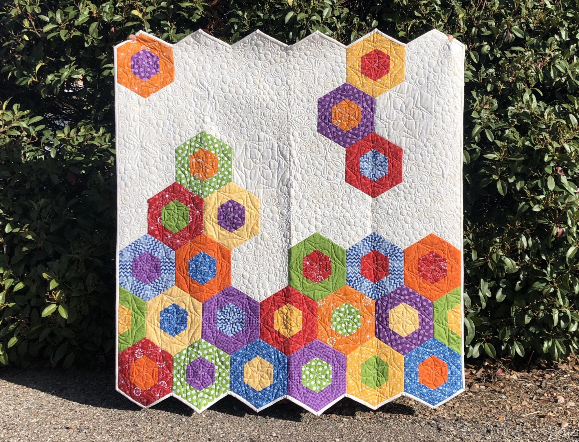 Science Fair Bright Kimberbell Basics Quilt Kit
