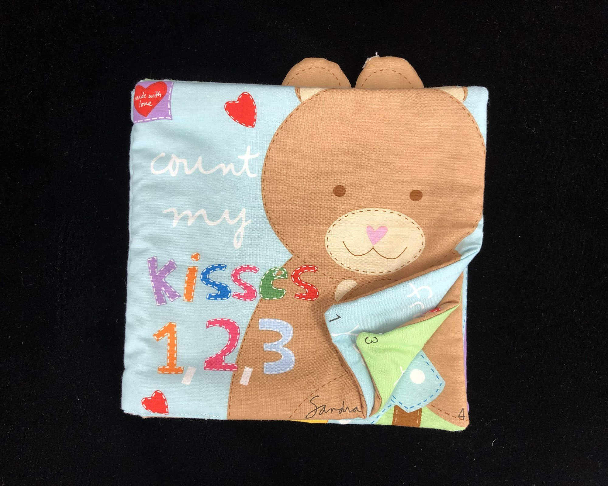 Count My Kisses 1,2,3 Soft Book Sample