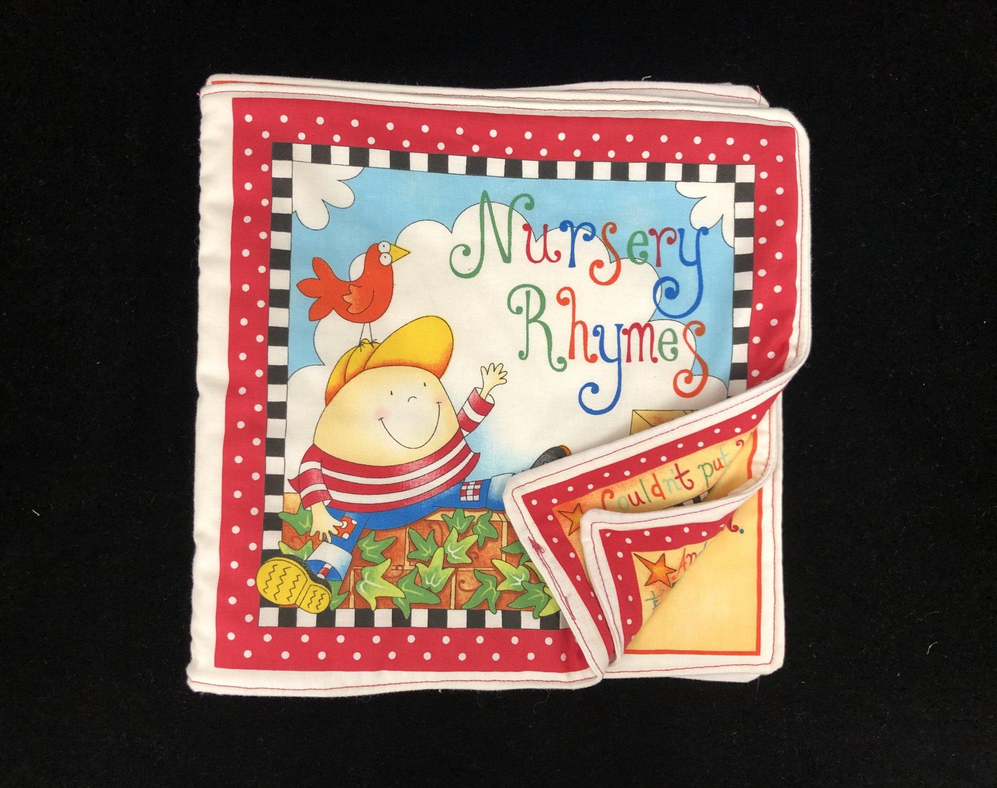 Nursery Rhymes Soft Book Sample