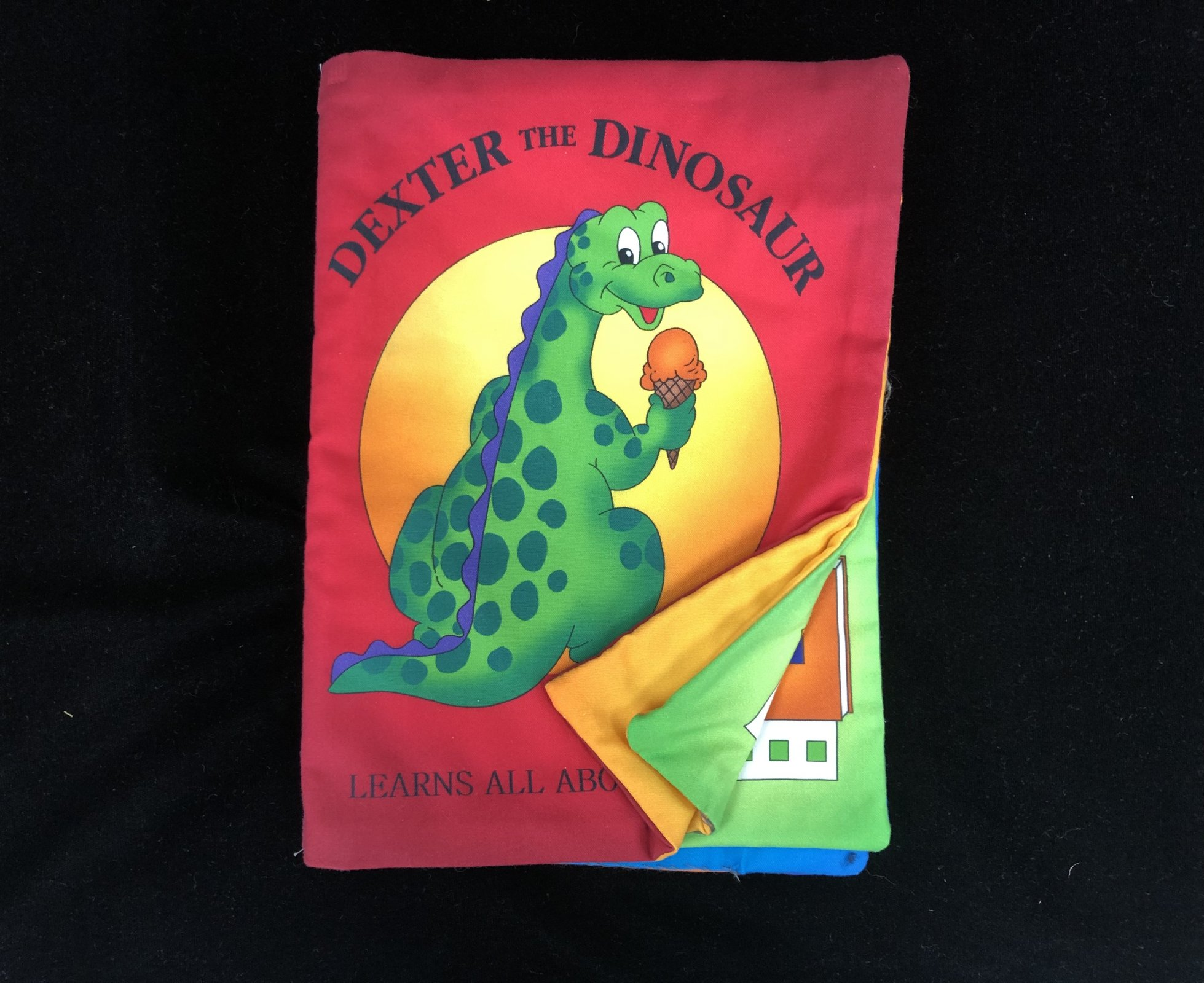 Dexter the Dinosaur Learns All About Shapes Soft Book Sample