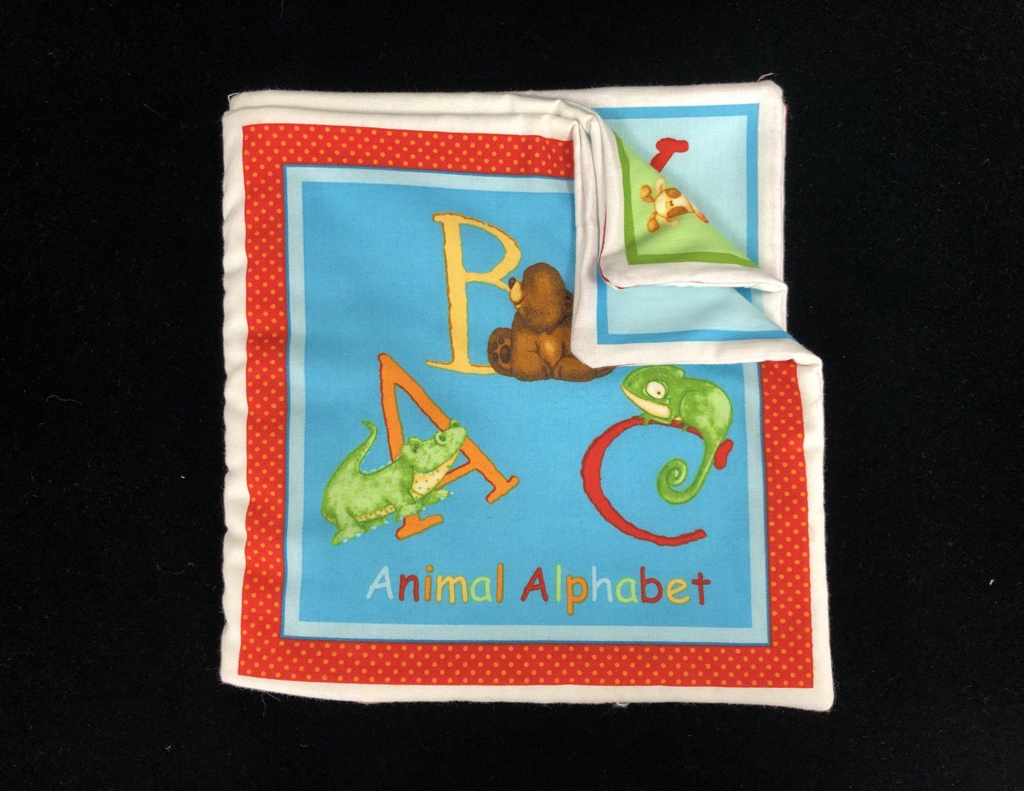 Animal Alphabet Soft Book Sample
