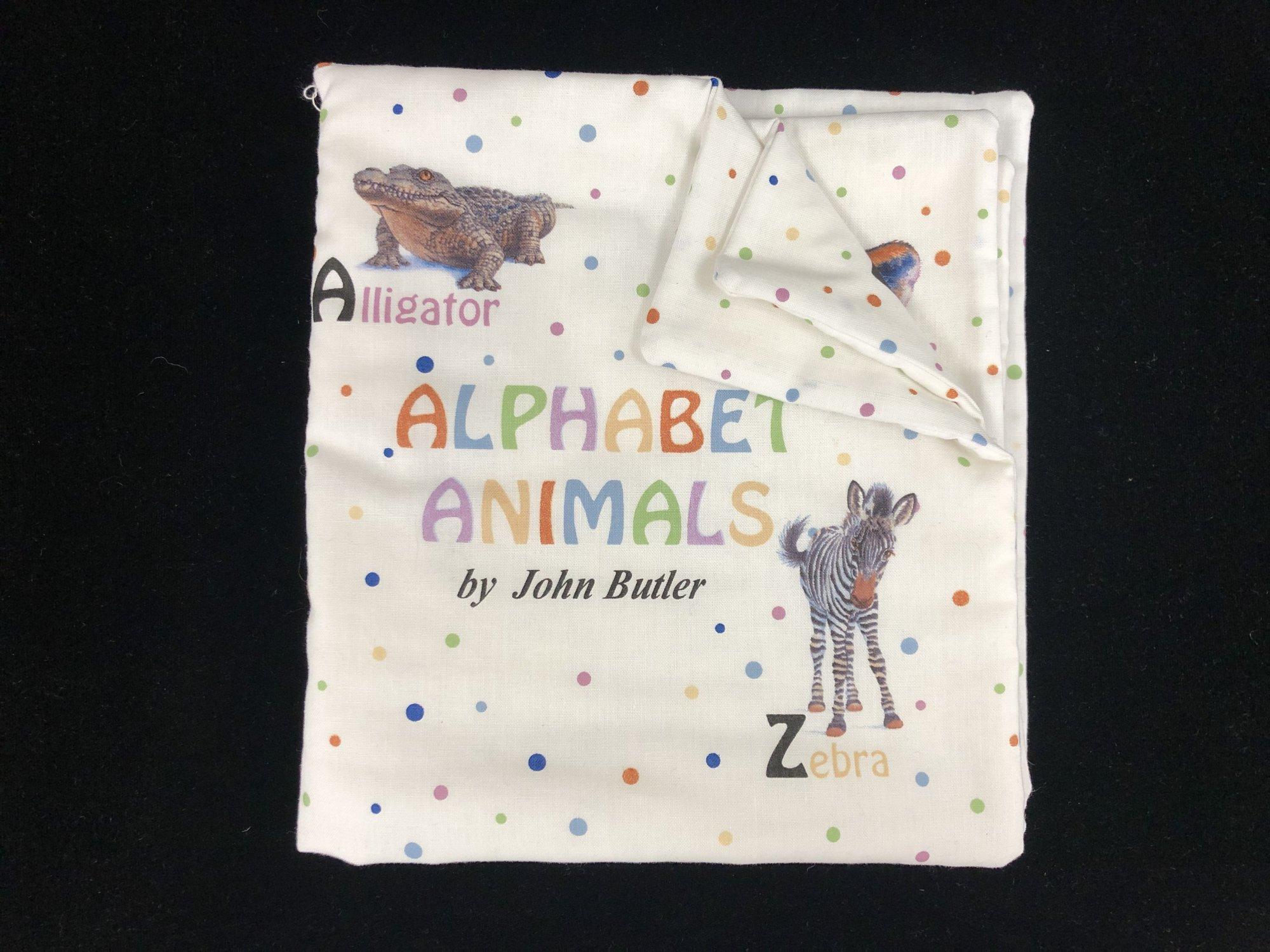 Alphabet Animals Soft Book Sample