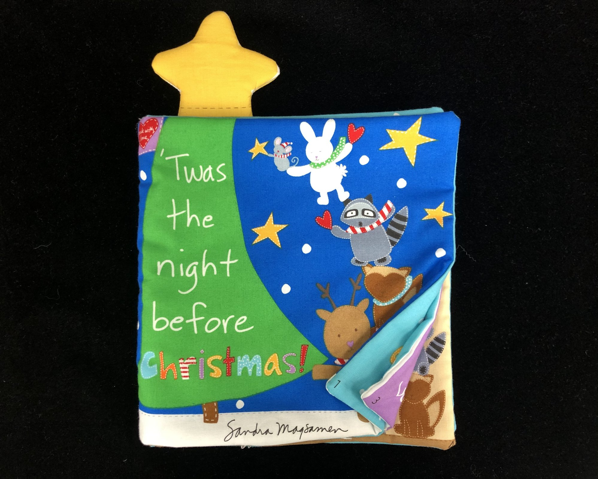 'Twas the Night Before Christmas Soft Book Sample